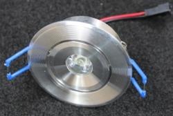 Встраиваемый светильник 1W круглый B702 B703