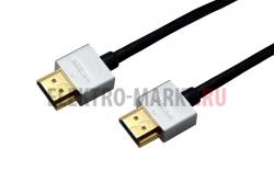 Шнур HDMI - HDMI gold 0.75М Ultra Slim