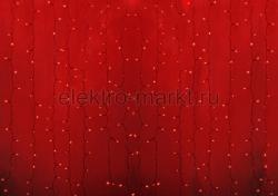 """Гирлянда """"Светодиодный Дождь"""" 2х1,5м, постоянное свечение, прозрачный провод, 22"""