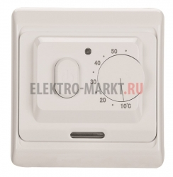 Терморегулятор механический с датчиком температуры пола (3680Вт)