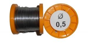 Припой ПОС-61 с канифолью 100г 0,5мм