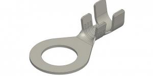Клемма кольцо 10.4 латунь луженая (провод 4-6 мм) 101207021