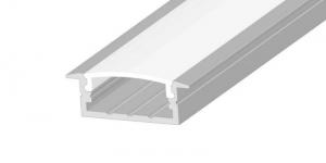 Встраиваемый алюминиевый профиль 10х30