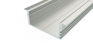 Встраиваемый алюминиевый профиль 12х34