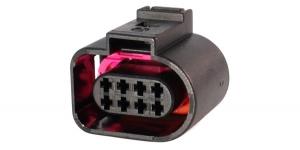 VAG 1J0973714 Герметичный разъём 8-и контактный
