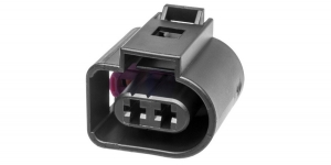 Герметичный разъём 2-х контактный VAG 1J0973722