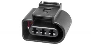 VAG 1J0973723 Герметичный разъём 3-х контактный