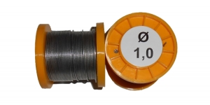 Припой ПОС-61 без канифоли 100г 1,0мм