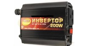Инвертор Союз 200W металлический корпус