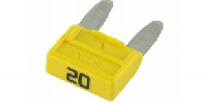 Предохранитель мини 20 ампер