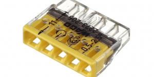 Клемма 5 контактная, компактная, 0.5-2.5 кв.мм 2273-205