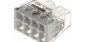 Клемма 8 контактная, компактная, 0.5-2.5 кв.мм 2273-208