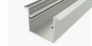 Встраиваемый алюминиевый профиль 25х37
