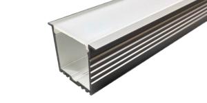Встраиваемый алюминиевый профиль 35х45