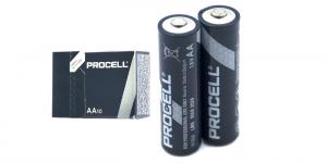 Алкалиновая батарейка AA/LR6 DURACELL PROCELL Бельгия блистер 10 штук
