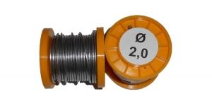 Припой ПОС-61 с канифолью 100г 2,0мм