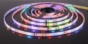 Светодиодная лента влагозащищённая SMD5050 30Led разноцветный RGB 12V IP65