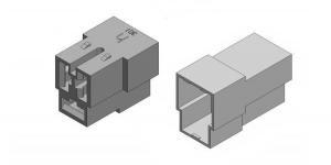 Набор разъёма без провода 3 контакта (клеммы в комплекте)