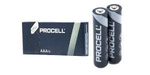 Алкалиновая батарейка AAA/LR3 DURACELL PROCELL Бельгия блистер 10 штук