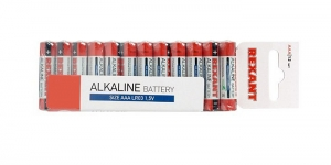 Алкалиновая батарейка AAA/LR03 блистер 24 штуки