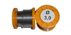 Припой ПОС-61 с канифолью 100г 3,0мм