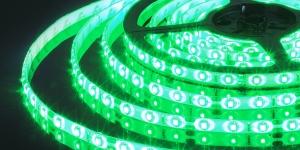 Светодиодная лента влагозащищённая SMD3528 60Led зелёный 12V IP65