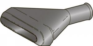 Резиновый наконечник герметичного разъёма на 6 контактов