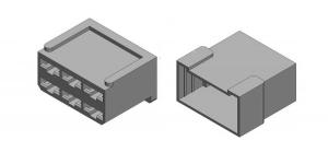 Набор разъёма без провода 6 контактов (клеммы в комплекте)