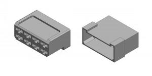 Набор разъёма без провода 8 контактов (клеммы в комплекте)