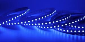 Светодиодная лента SMD3528 120Led синий 12V IP33