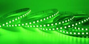 Светодиодная лента SMD3528 120Led зелёный 12V IP33
