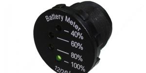 Индикатор уровня зарядки автомобильного аккумулятора 12/24V SCI