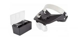 Бинокуляр монтажный с подсветкой и нобаром линз 1.2х, 1.8х, 2.5х, 3.5х