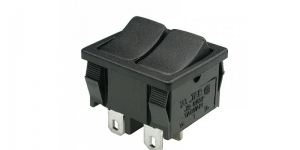 Выключатель 2-х клавишный MRS-2101