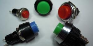 кнопки, выключатели