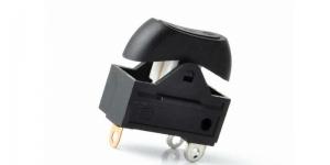 Выключатель клавишный 3 положения для фена KCD1-122-1