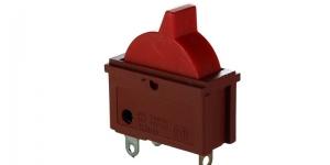 Выключатель клавишный 3 положения для фена KCD1-122-2