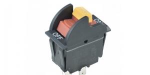 Выключатель клавишный на 2 группы контактов KCD3-05