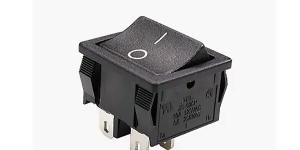 Выключатель клавишный на 2 группы контактов MRS-201-1