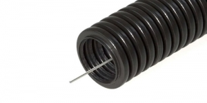 Гофрированная труба (гофра ПНД) диаметр 16мм