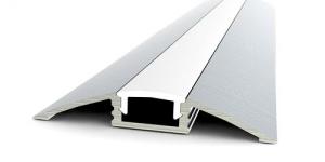 Накладной алюминиевый профиль FLOOR.608