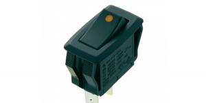 Выключатель клавишный с подсветкой R13-205L