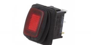 Выключатель клавишный влагозащищённый R13-66B8