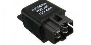 Автомобильное реле 4 контактное 12V 40A тип-1А