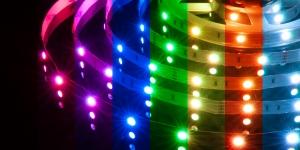 Светодиодная лента SMD5050 30Led разноцветный RGB 12V IP33