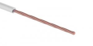 Провод ПГВА 1х0.35 мм² белый Cu Автопровод