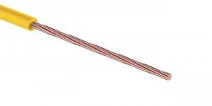 Провод ПГВА 1х0.35 мм² жёлтый Cu Автопровод
