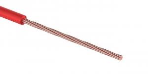 Провод ПГВА 1х0.35 мм² красный Cu Автопровод