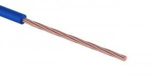 Провод ПГВА 1х0.35 мм² синий Cu Автопровод