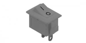 Выключатель клавишный SMRS-101-1
